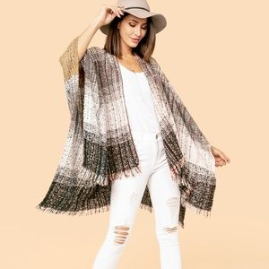 NWT Long Scarf with Fringe